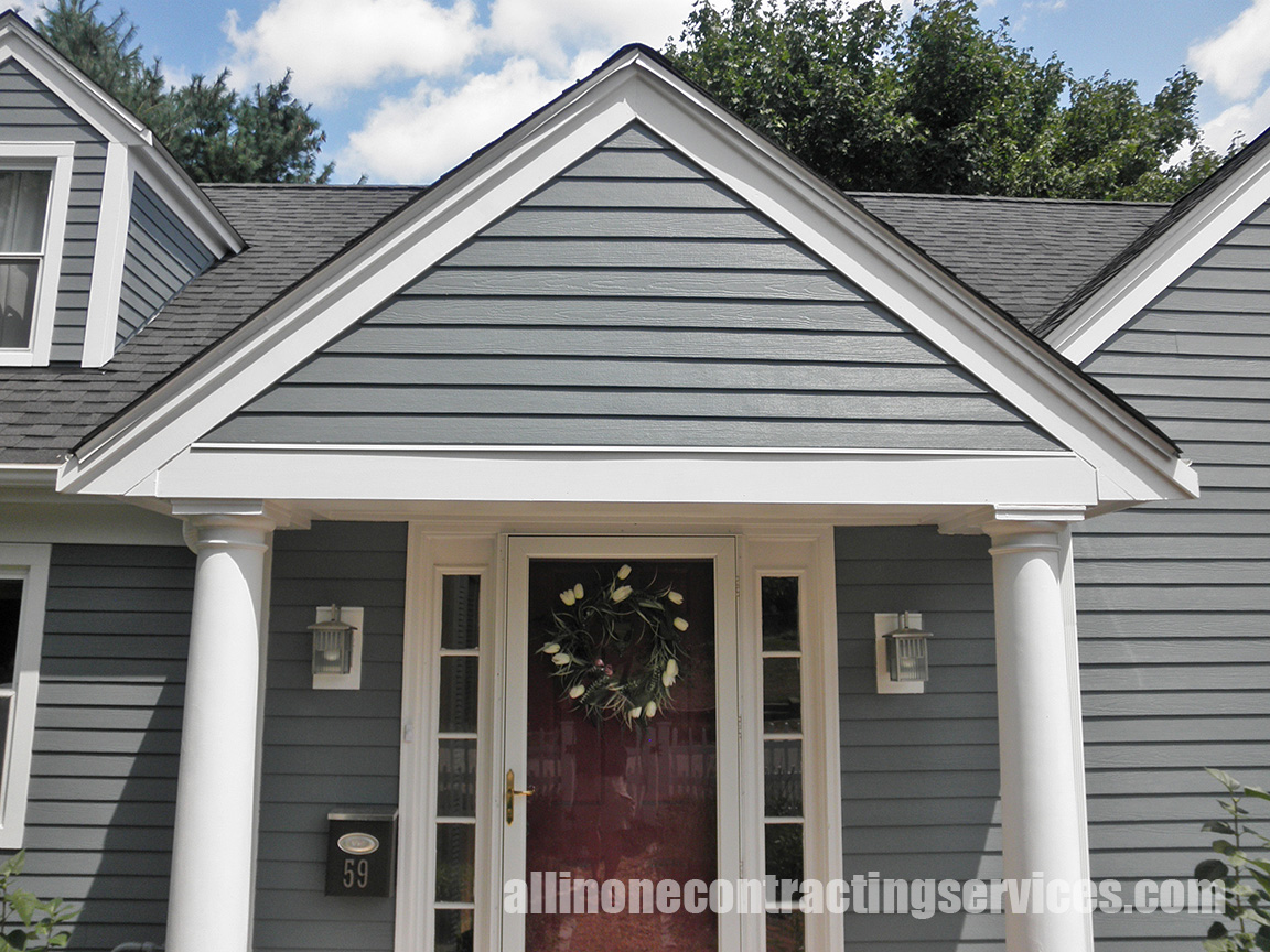 Boothbay Blue Hardie Siding