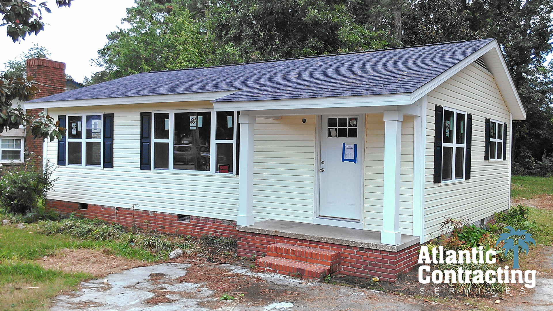 Myrtle beach siding installer myrtle beach exterior building renovation specialist atlantic for Exterior remodeling specialists