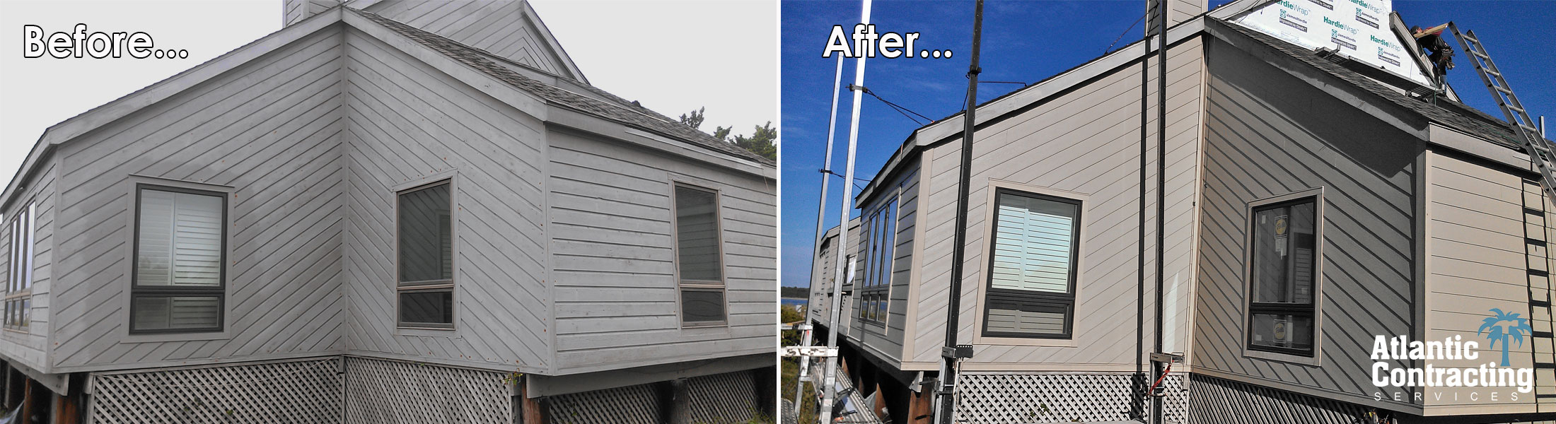 Seabrook Island Siding Contractors Installed James