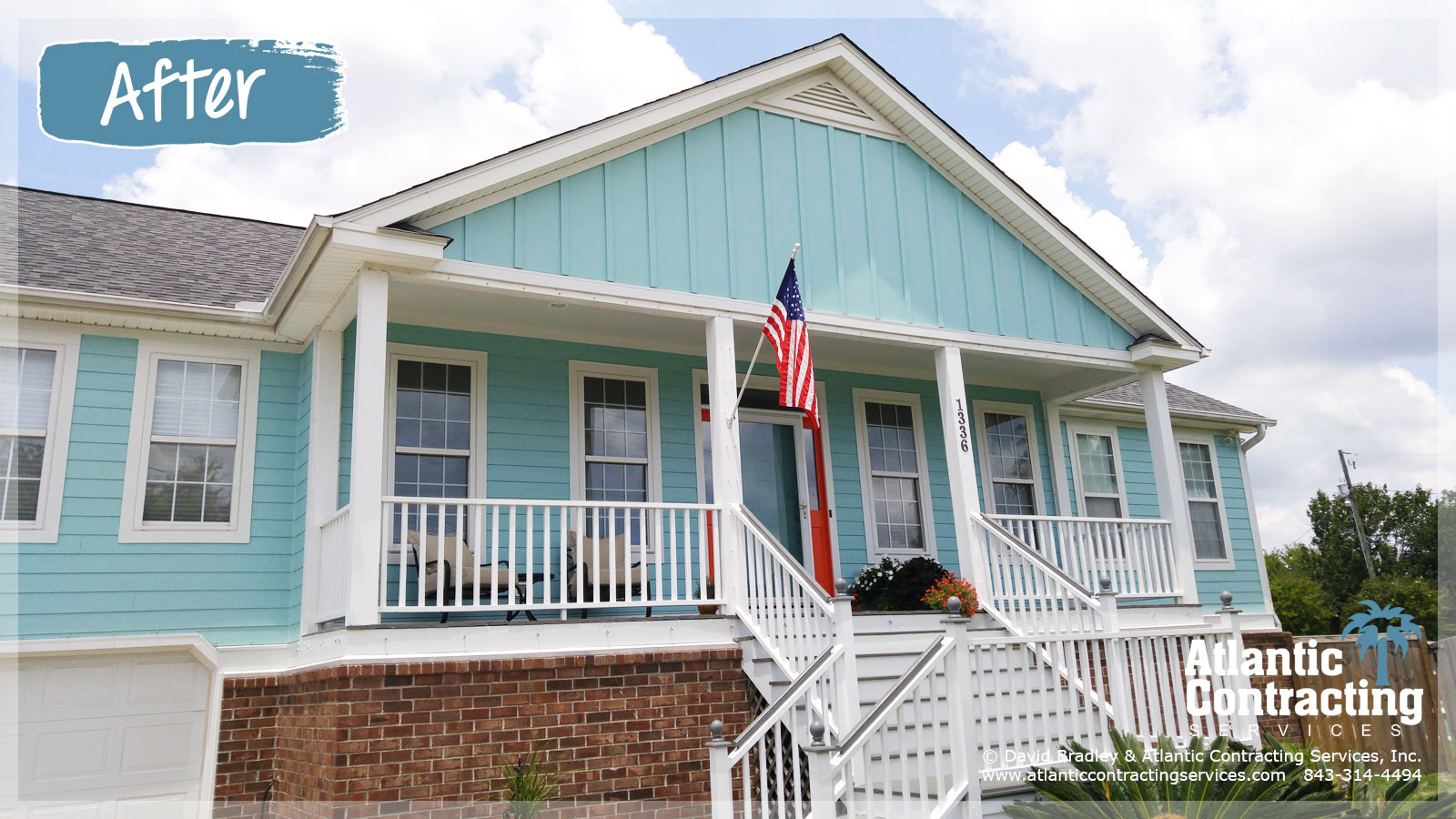 Battle ground road james island sc atlantic contracting for James hardie siding pricing
