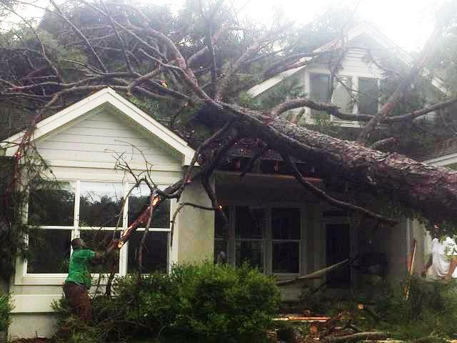 Map Of Hurricane Damage At Hilton Head Island