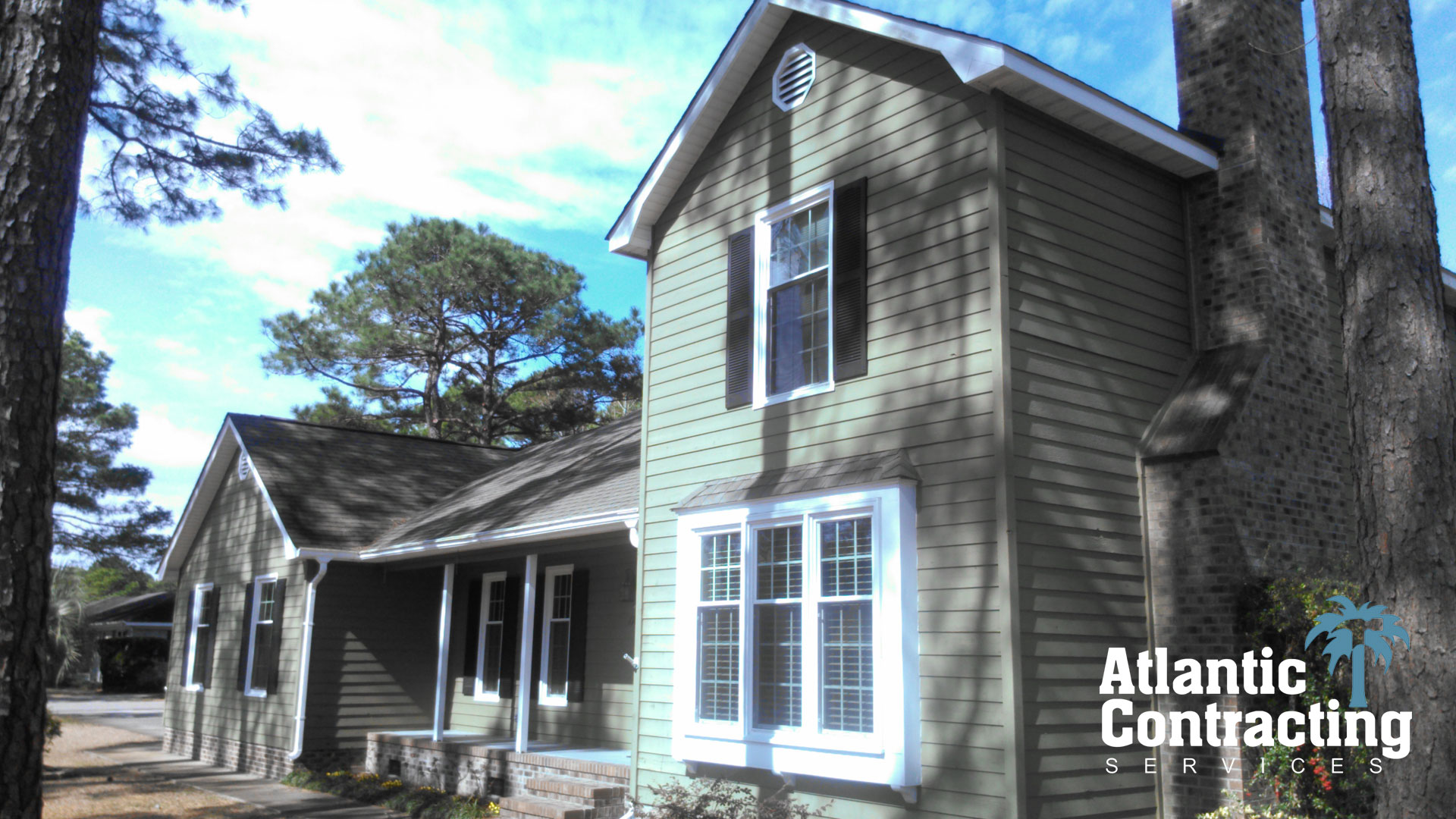 James Hardie ColorPlus Siding Mountain Sage