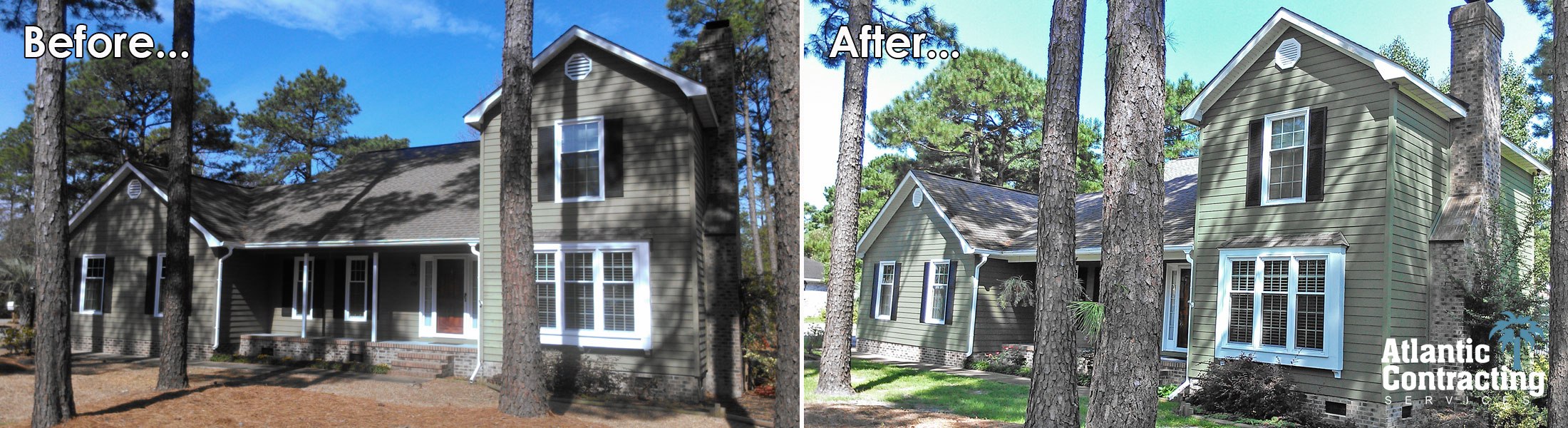 Atlantic Contracting Services, Your Conway SC Exterior Renovation Specialists