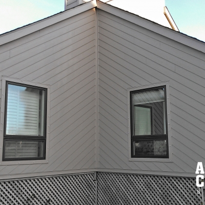 New HardiPlank Siding Color Plus Monterey Taupe